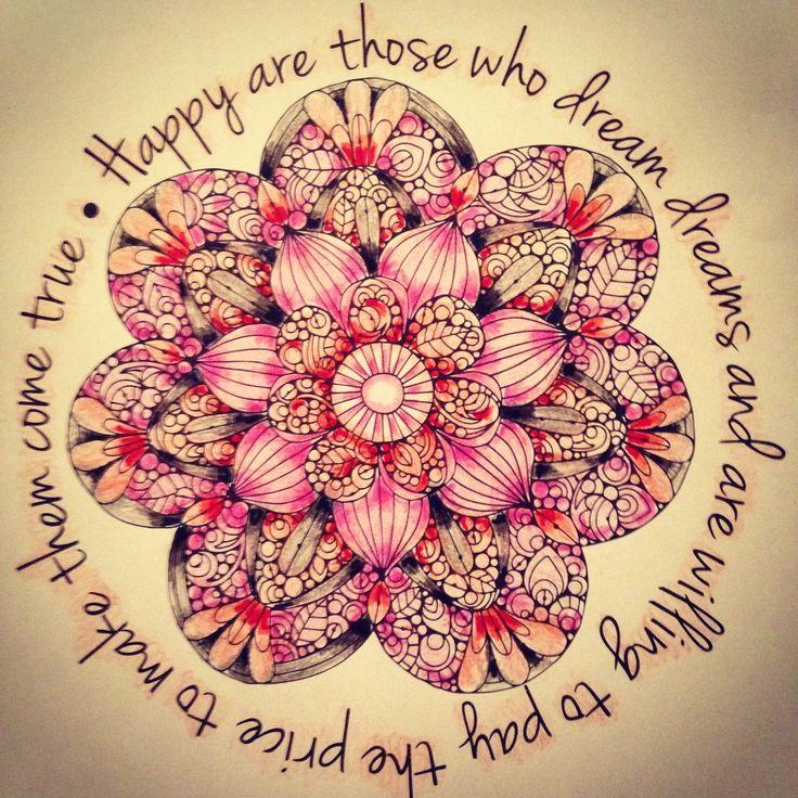 Floral Mandala #ColorLife