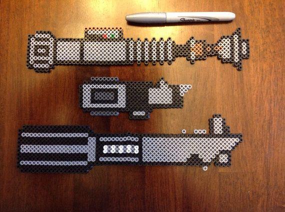 Star Wars perler beads skywalker luke yoda por Mattsterpieces