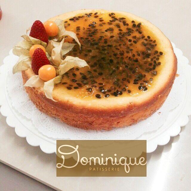 maracuya NY cheesecake