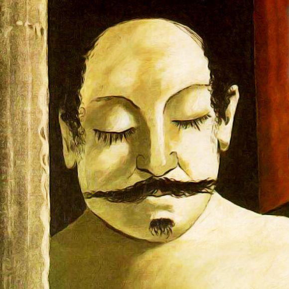 GIORGIO DE CHIRICO. Le cerveau de l´enfant. 1914.