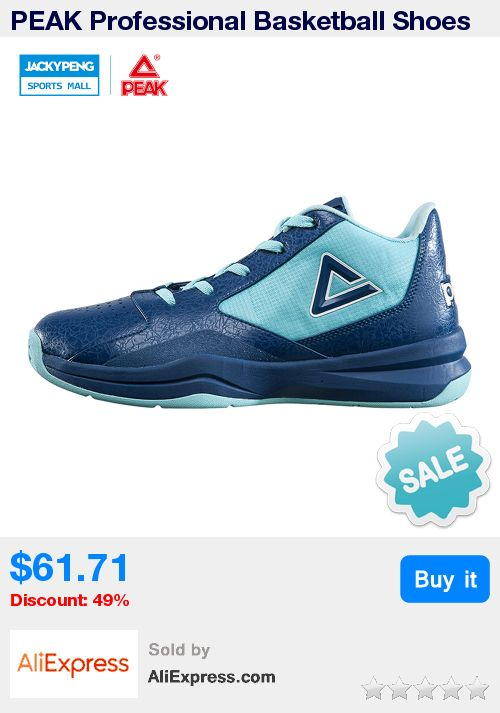 PEAK Professional Basketball Shoes Breathable Cushioning Support Sneake Sports Shoes Botas De Basquet Hombre Basketball Sneakers * Pub Date: 07:13 Sep 17 2017