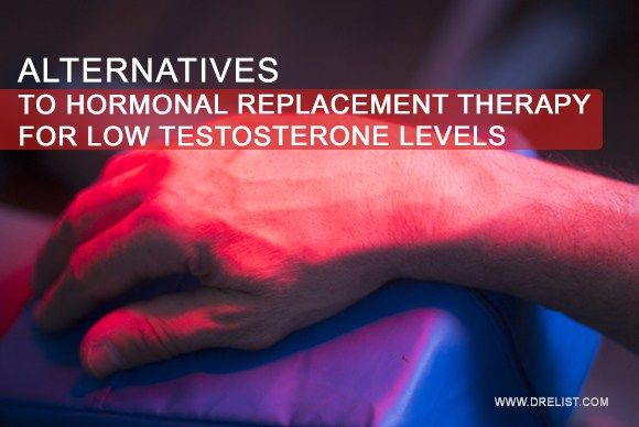 Alternatives To #Hormonal# Replacement #Therapy For Low #Testosterone  Hormone replacement therapy, #HRT, is recommended when the natural testosterone levels decline as the body fails to produce sufficient #hormone.