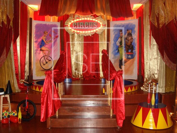 Vintage Circus Stage