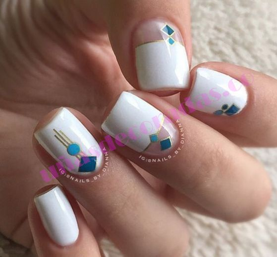 + 70 fotos ¡Tendencia! en uñas decoradas elegantes 2017