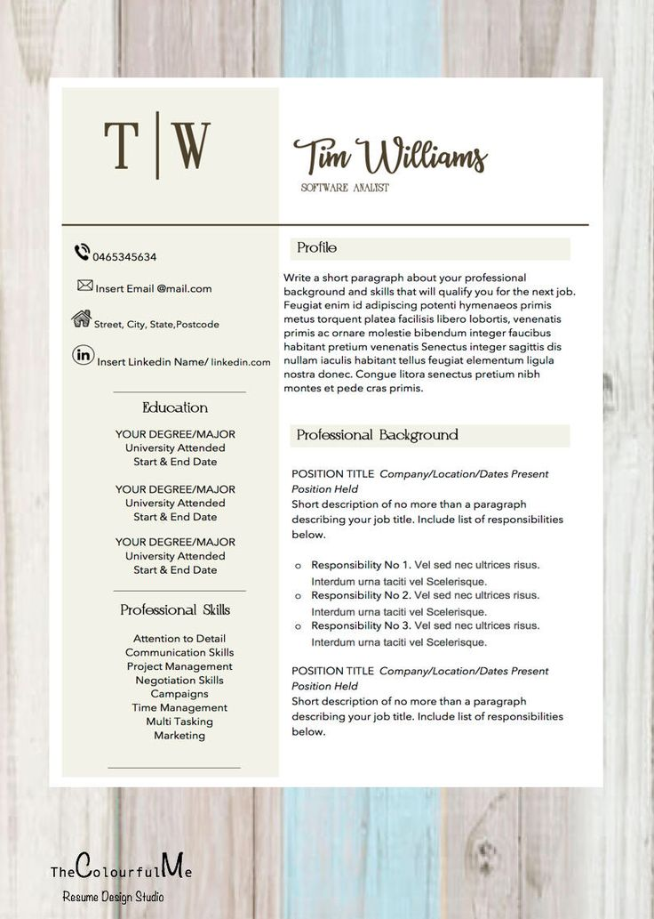 The 25+ best Cover letter template word ideas on Pinterest - contacts template word