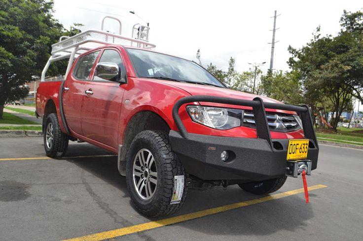 Bomper Delantero Safari Accesorios Colombia Bomberos Mitsubishi L-200 Sportero