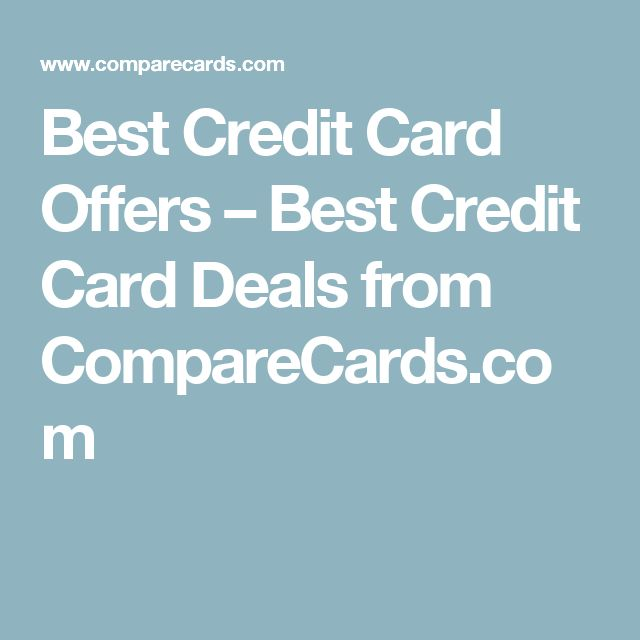 Best Credit Card Offers – Best Credit Card Deals from CompareCards.com