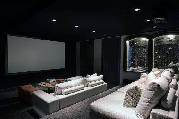 80 Home Theater Design Ideas For Men Movie Room Retreats Home