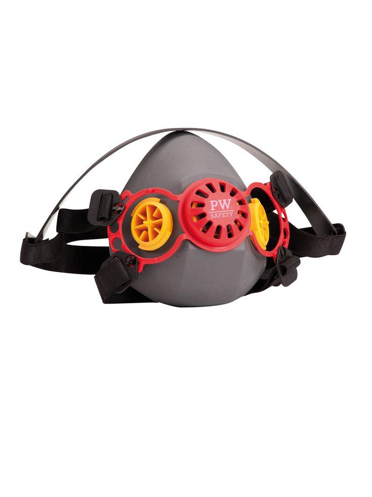 VANCOUVER YARIM YÜZ MASKESİ: Dayanıklı ve esnek termoplastik ten imal edilmiş olup tek beden olarak satıştadır. Çift filtreli yapısı ağarlığın eşit olarak dağıtılmasına olanak sağlar. Ergonomiktir. Baş bantları kullanıcı konforunu maksimuma çıkarır. ABS filtre tutucu ve ön nefes valfi mevcuttur. Materyal: Thermoplastik Lastik Sertifika: EN 140:1999
