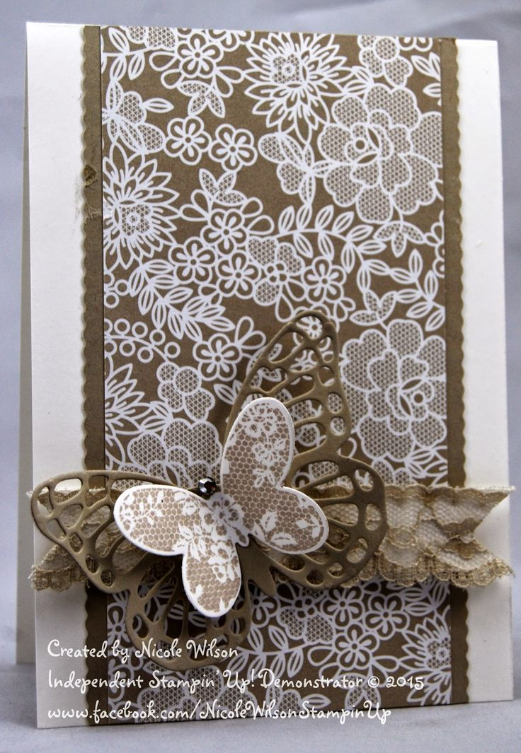 Nicole Wilson Independent Stampin' Up! Demonstrator: Butterfly Basics