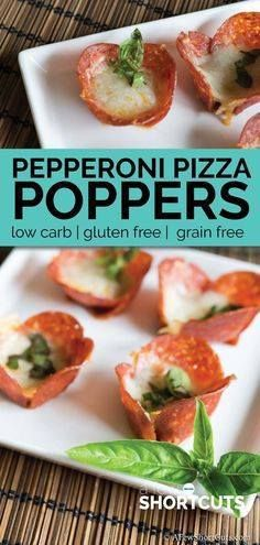 Looking for a low ca Looking for a low carb appetizer that still...  Looking for a low ca Looking for a low carb appetizer that still tastes amazing? Try these simple Pepperoni Pizza Poppers that are ready in only minutes! Recipe : http://ift.tt/1hGiZgA And @ItsNutella  http://ift.tt/2v8iUYW