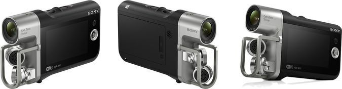 Sony HDR-MV1 Video-Audio Recorder Angled View http://coolpile.com/gadgets-magazine/sony-hdr-mv1-high-quality-audio-pocket-camcorder/ via coolpile.com by @Sonja Champness Electronics => PLS Re-Pin  #Amazon #Audio #Cameras #CarlZeiss #Cool #HD #HDMI #Music #NFC #Sony #VideoRecorder #WiFi #coolpile