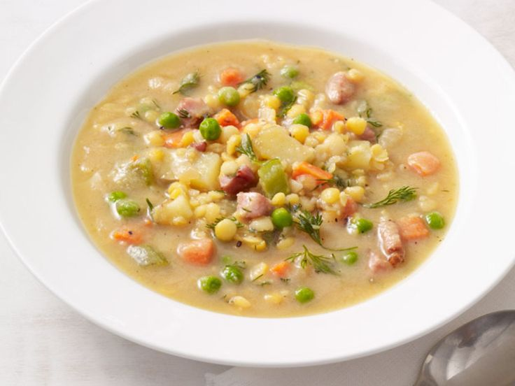 Get this all-star, easy-to-follow Lentil Soup With Peas and Ham recipe from Food Network Kitchen