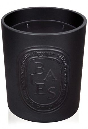 ✕ Diptyque Baies Large Candle - I think this black candle is pretty cool.