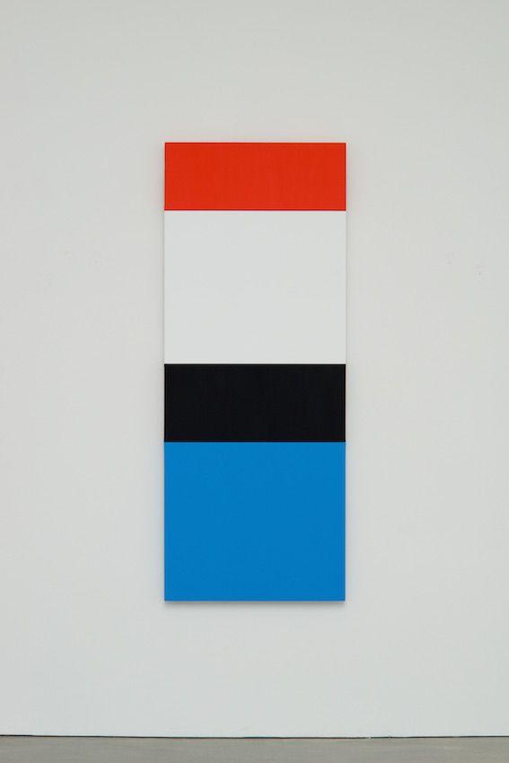 ELLSWORTH KELLY Red White Black Blue 2014