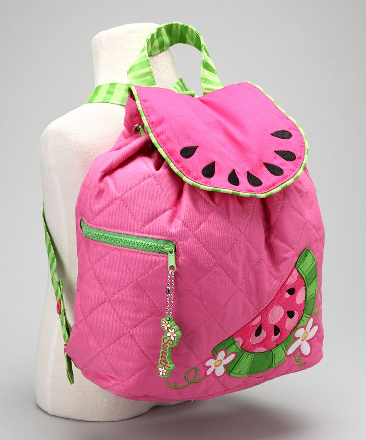 Watermelon Quilted Backpack