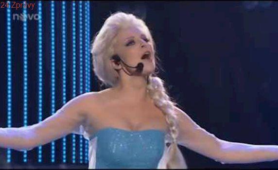 Markéta Konvičková jako Elsa z Ledevého Království | Tvoje tvář má známý hlas III