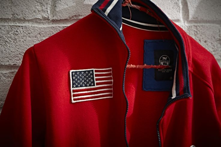 #NorthSails #Lookbook #collection #fall #winter #2013 #2014 #sweatshirt #patch #usa #flag #Cesare #Medri