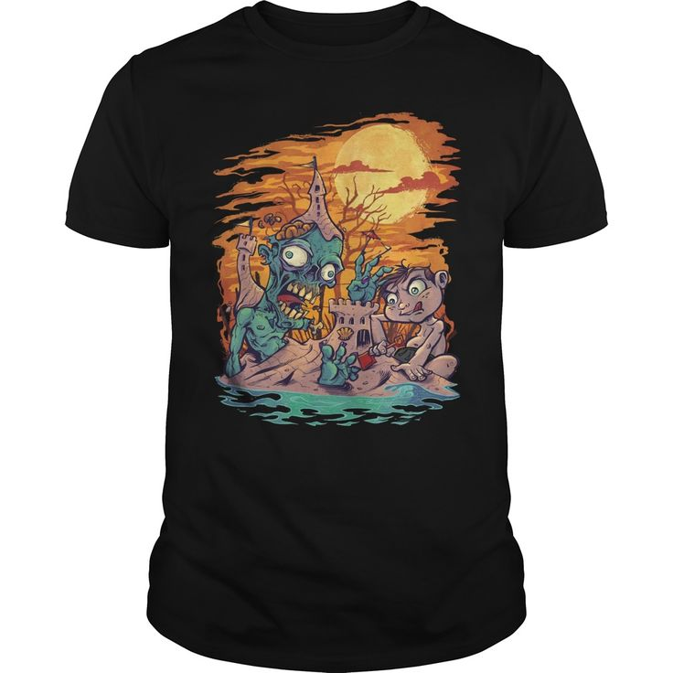 Zombie At The Beach. Funny Zombie Quotes, Sayings T-Shirts, Hoodies, Tees, Clothing, Gifts. #zombie