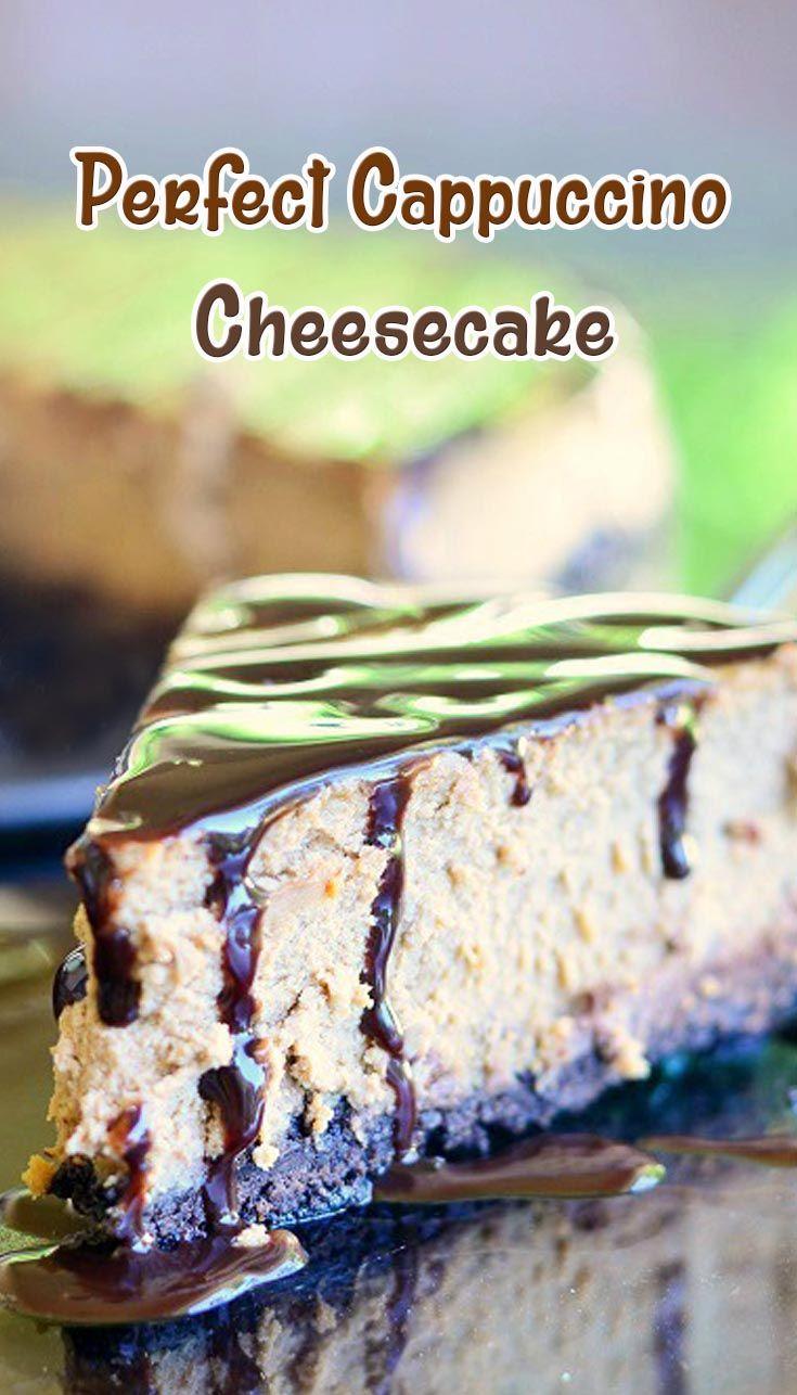 Perfect Cappuccino Cheesecake