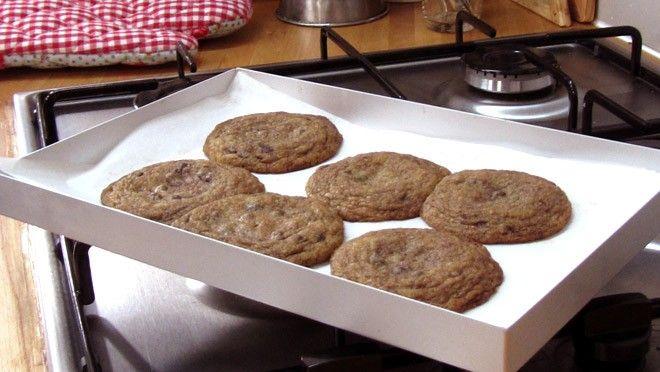 American chocolate chip cookies - recept | 24Kitchen baking good baking bad