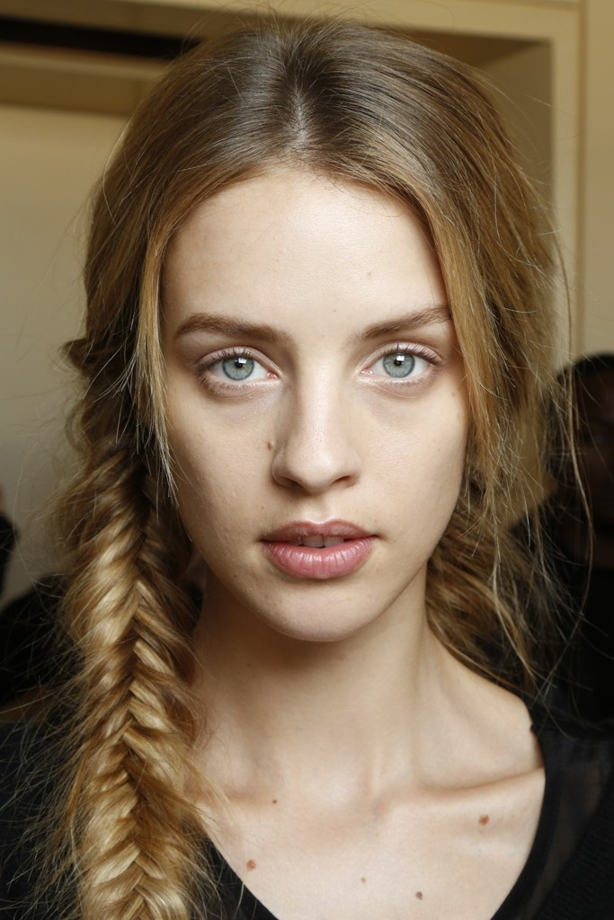 Backstage at Tory Burch RTW Spring 2013: Wedding Guest, Fish Braids, Hairstyles Wedding, Messy Braids, Perfect Hairstyles, Fishtail Braids, Spring 2013, Fishtail Plaits, Beautiful Trends