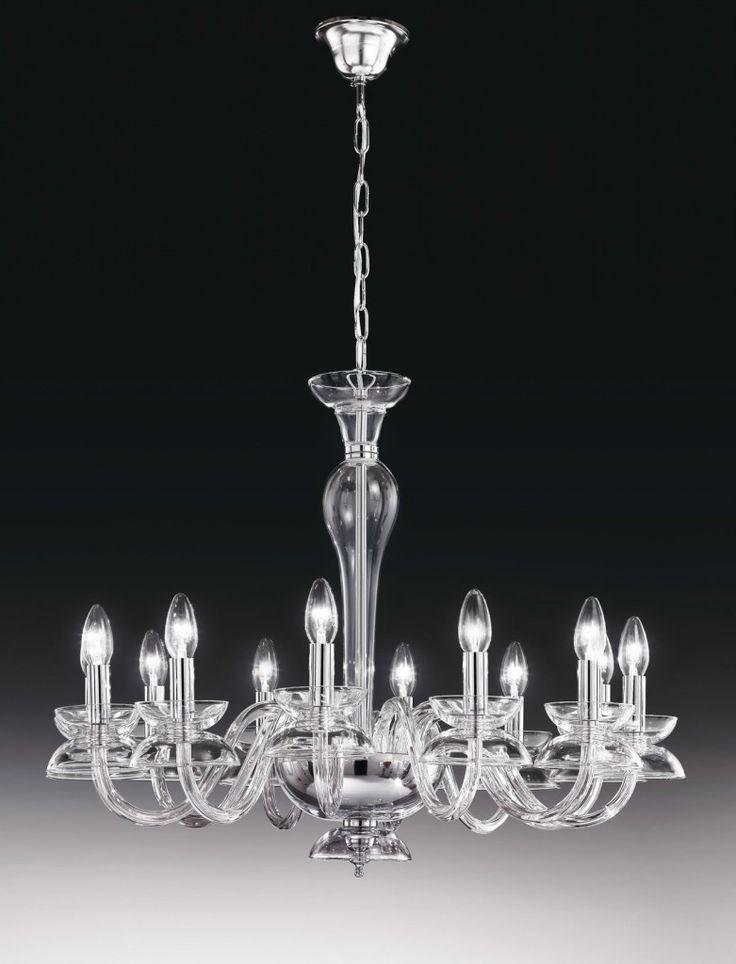 #DALÍ 12L Crystal chandelier by #Voltolina