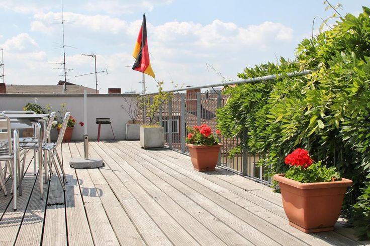 Galeriezimmer mit Dachterrasse in Penthouse WG - Wohngemeinschaft Nürnberg-Altstadt/Fußgängerzone #Dachterrasse #Nürnberg #Altstadt