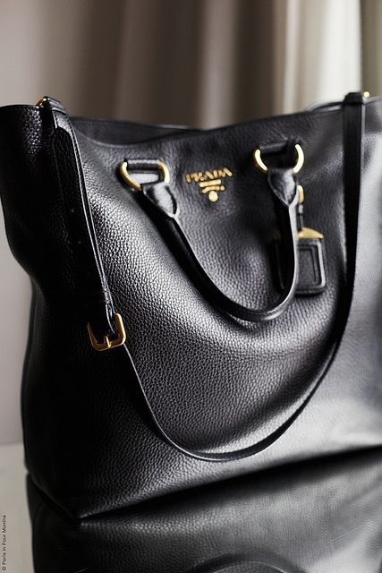 Prada Calf Leather Tote Bag