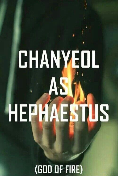 Exo as Greek Gods Chanyeol