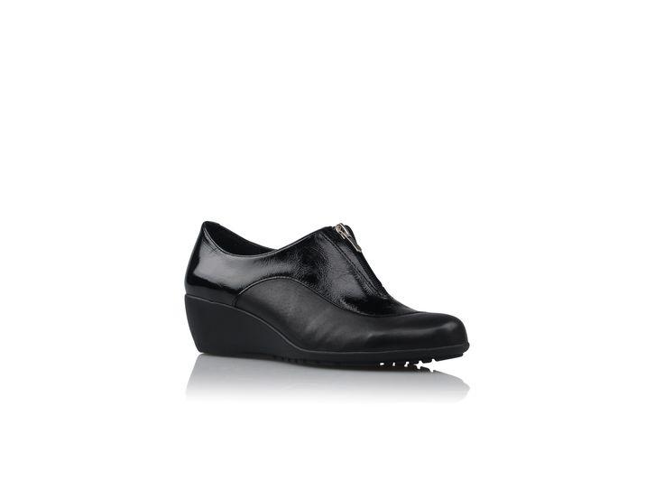 Zensu - Darling - Black Leather/Patent