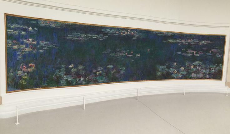 Le Ninfee : Riflessi Verdi - Monet, Orangerie . FDF