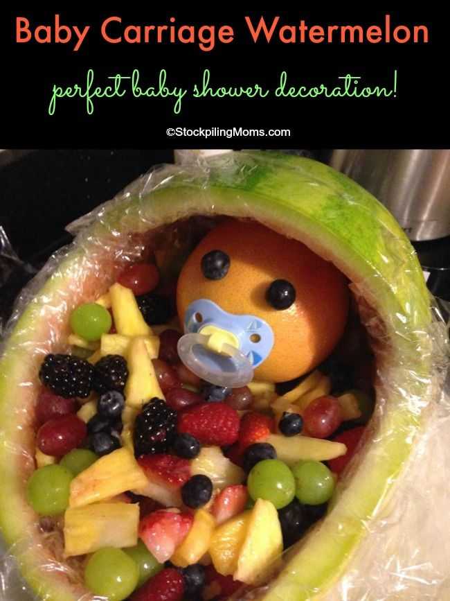 Food Sculptures For Baby Showers