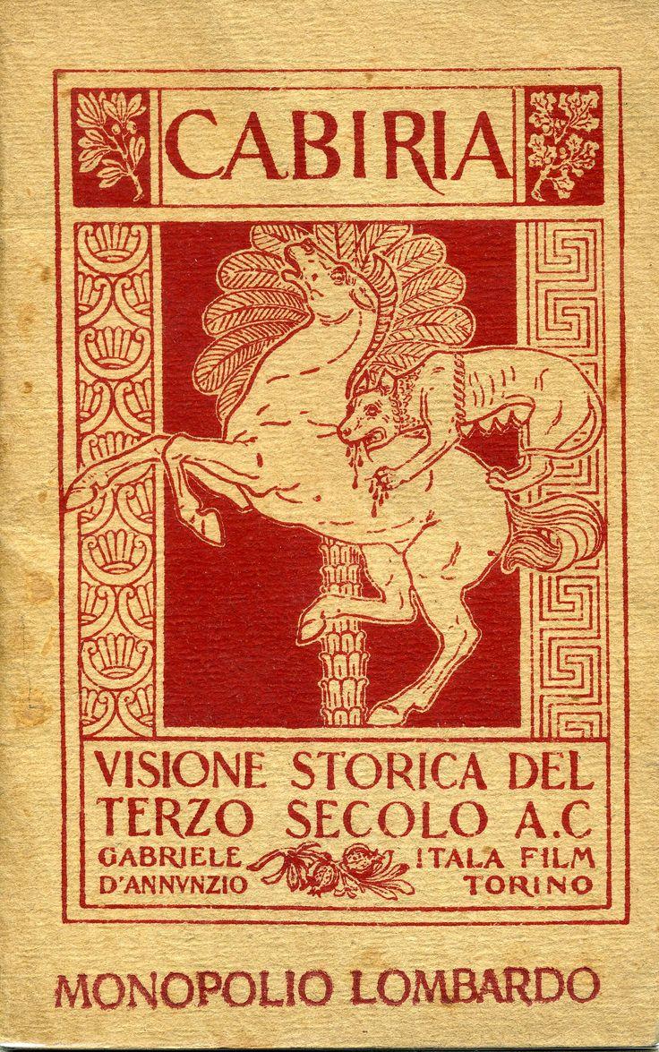 Gabriele d'Annunzio - Cabiria - 1914