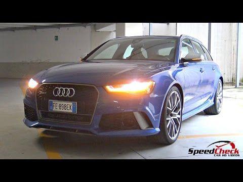 2017 Audi RS6 C7 Performance Plus - Full Walkaround, Start Up, Engine Sound - YouTube