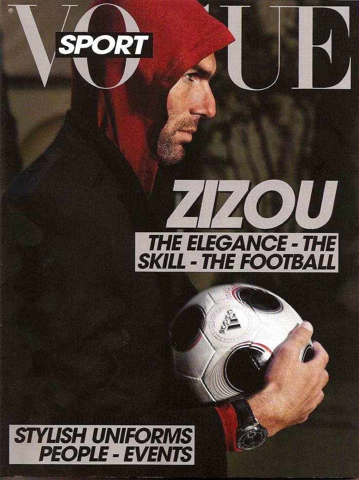 L'Uomo Vogue Sport Zidane