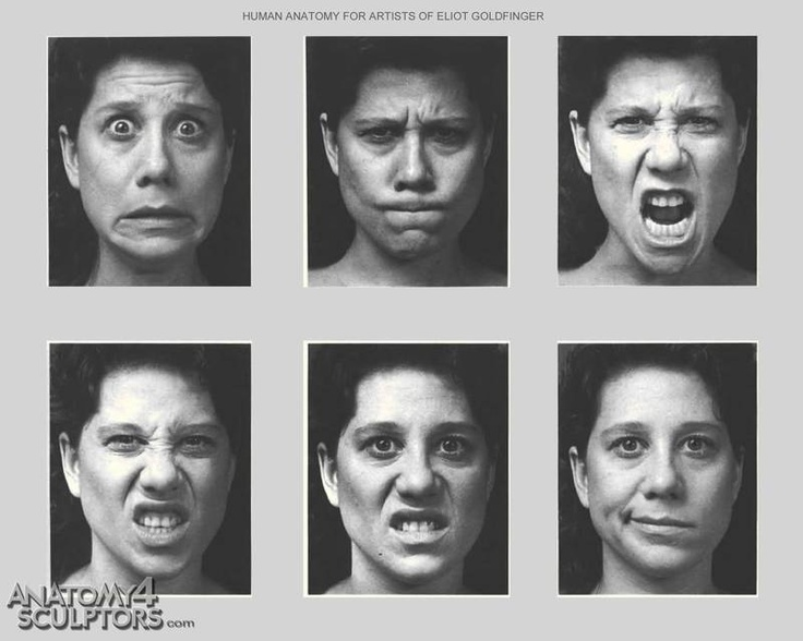 Have hit facial expressions of emotion