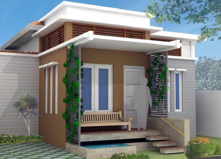 Desain Rumah Minimalis Modern 6 X 15