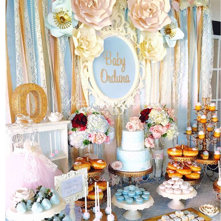 This Vintage Victorian Baby Shower is absolutely adorable!! See more party ideas and share yours at CatchMyParty.com