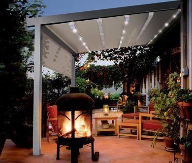 SunStructure GENNIUS - Rainproof Retractable Patio Cover Seattle