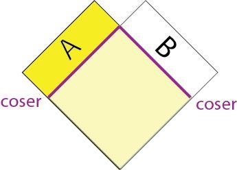 Poncho con dos rectángulos | Tejedora