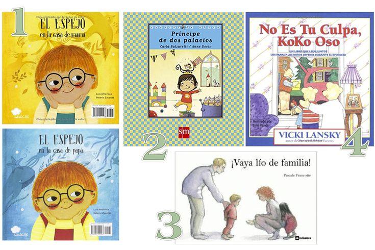 Libros infantiles para afrontar un divorcio