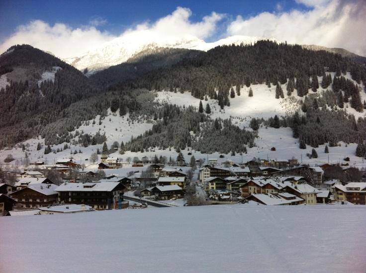 Christmas ski trip in Lermoos, Austria
