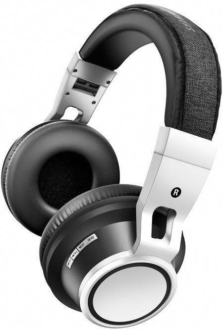 Sharper Image Black Fabric Headband Noise Isolating Wireless