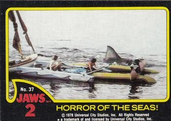 1978 Topps Jaws 2 #37