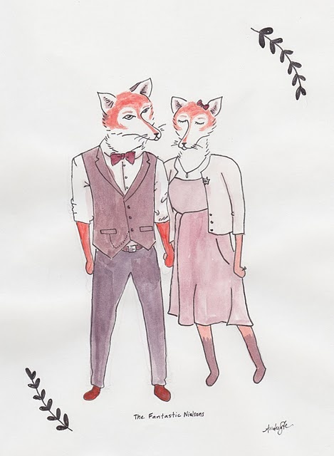 Fantastic FoxesFoxy Couples, Fantastic Foxes, Foxes Couples, Art Happy, Foxes Movie Pretty, Foxes Movie'S Pretty