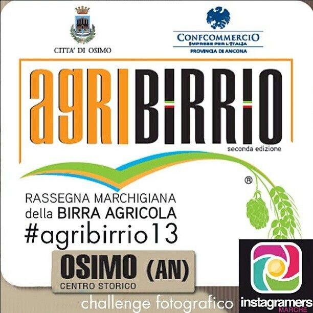 #agribirrio13 Rassegna marchigiana della birra agricola ad #Osimo