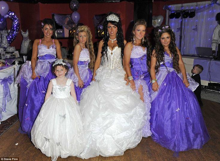 bbw in short dress | My Big Fat Gypsy Wedding: Britains youngest gypsy bride gets married ...