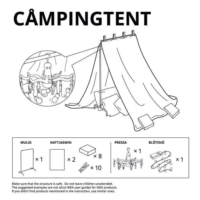 Si no sabes cómo hacer un fuerte para los niños, Ikea nos da