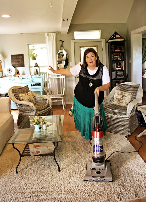 I love my Bissell vacuum cleaner!  It's affordable and cleans great! #ad